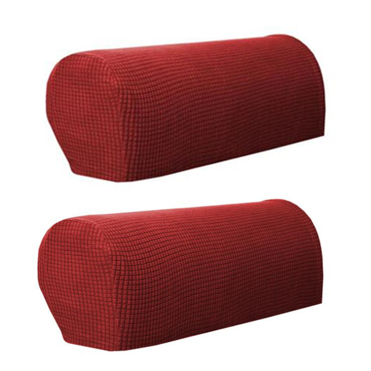 Set Of 2 Premium Furniture Armrest Covers Sofa Couch Chair