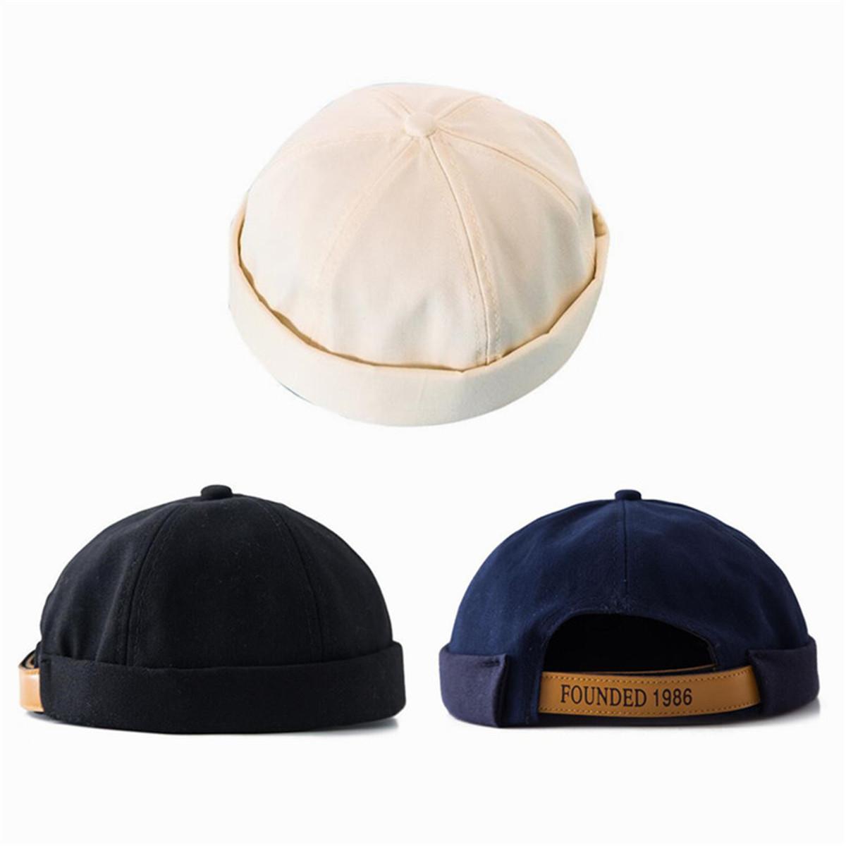 d1d4fd4a7ae Details about Men Unisex Street Casual Docker Sailor Biker Hat Loop Beanie  Brimless Cap Gift