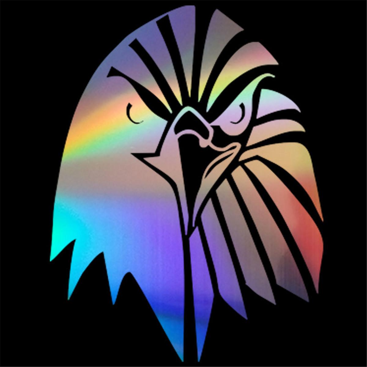 Fun Owl Eagle Car Sticker Window Windscreen Bumper Laptop