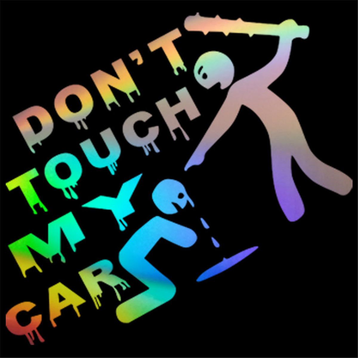 Don T Touch My Car Sticker Vinyl Decal Bumper Window Decor Removable Paster Usa Car Truck Graphics Decals Auto Parts And Vehicles Tamerindsa Com Ar
