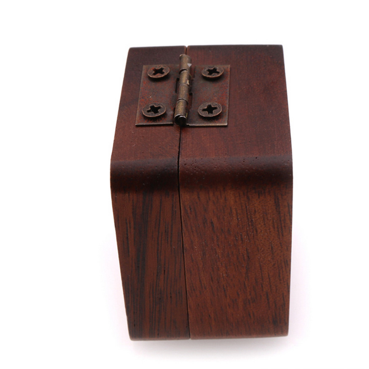 walnut wooden guitar pick box plectrum holder case guitar lover musical box gift ebay. Black Bedroom Furniture Sets. Home Design Ideas