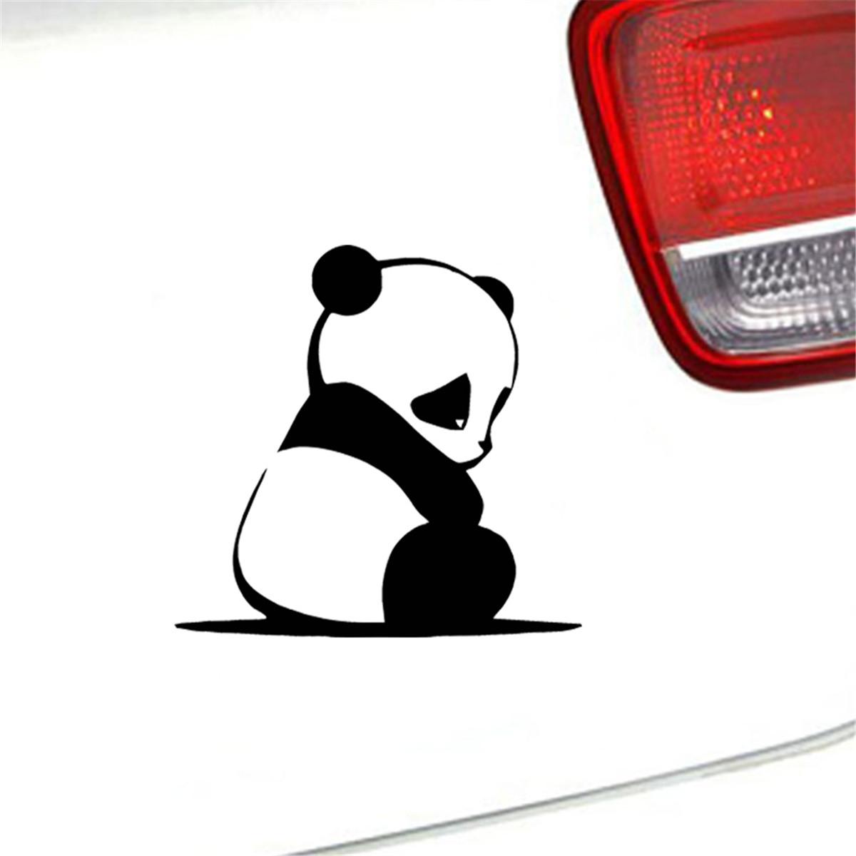 "PANDA Vinyl Decal Sticker Car Window Bumper Wall laptop Bear 4/"""