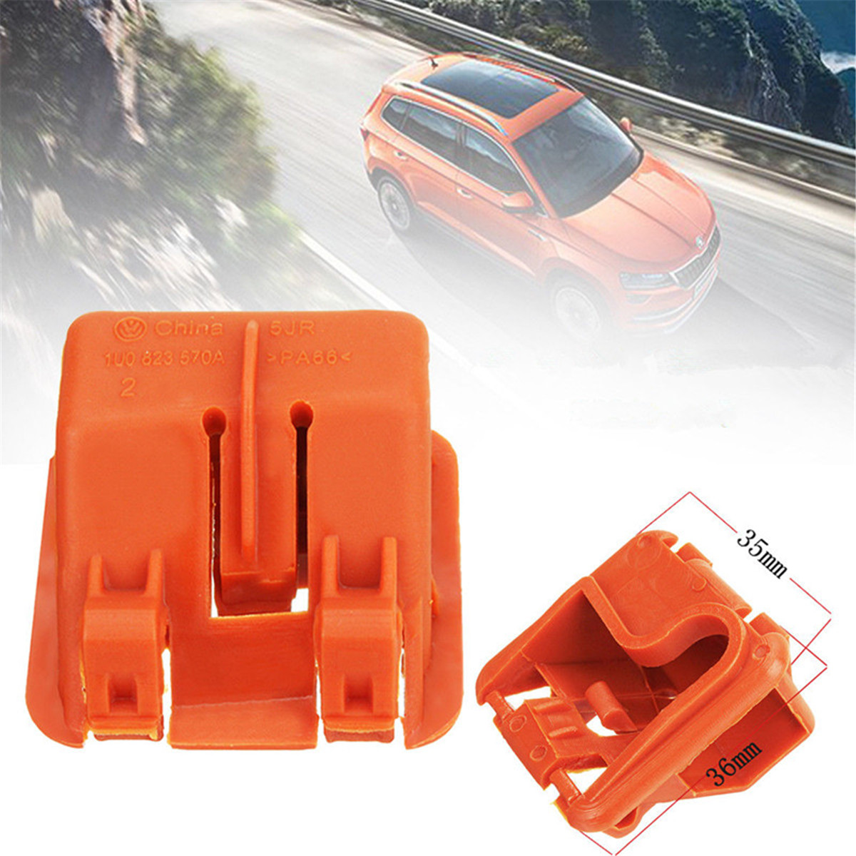 1* Hood Bonnet Rod Stay Clip Bracket Fit For Skoda Fabia Octavia MK2 2004-2013