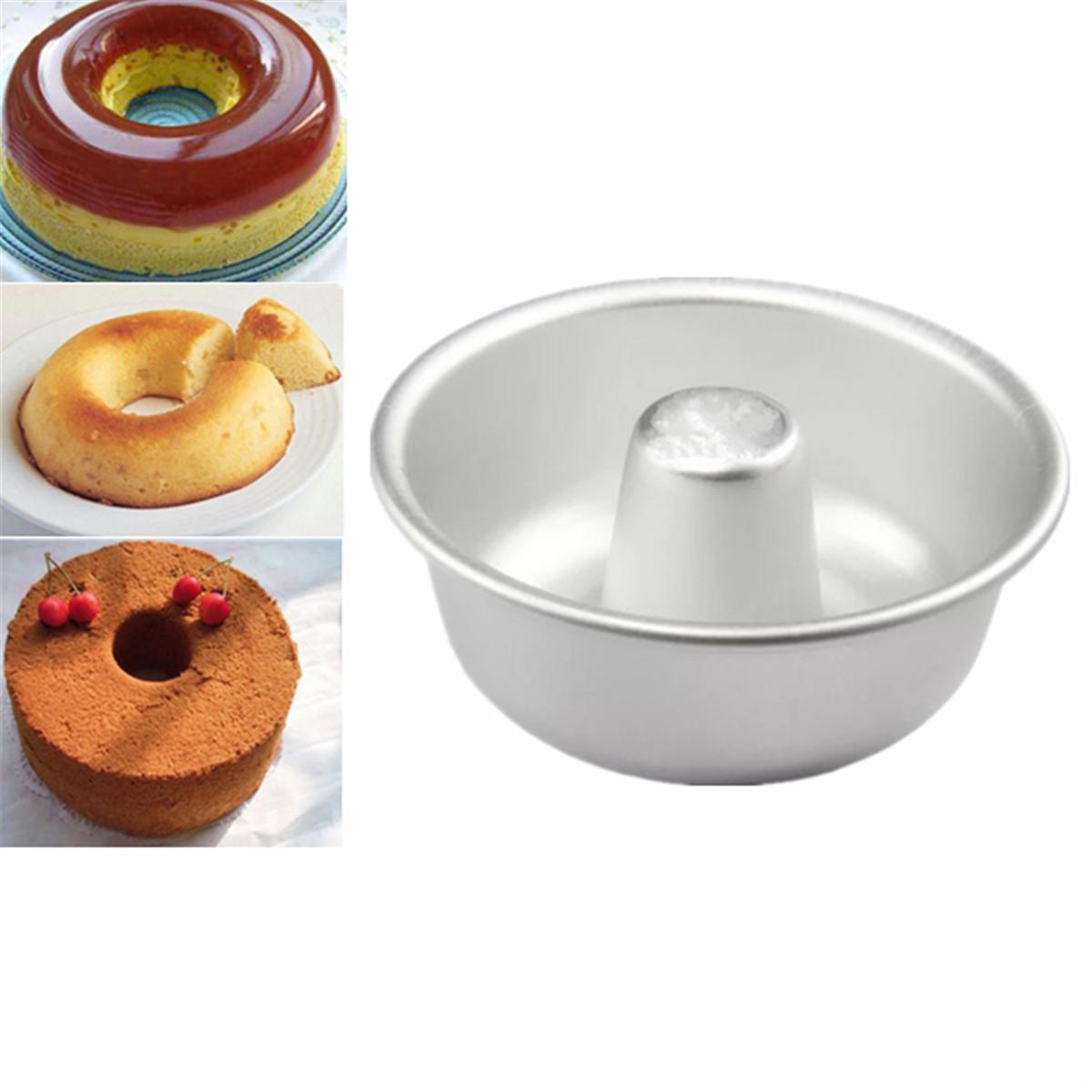 Chiffon Cake Mold Diy Donut Pan Mould Baking Tin Ring