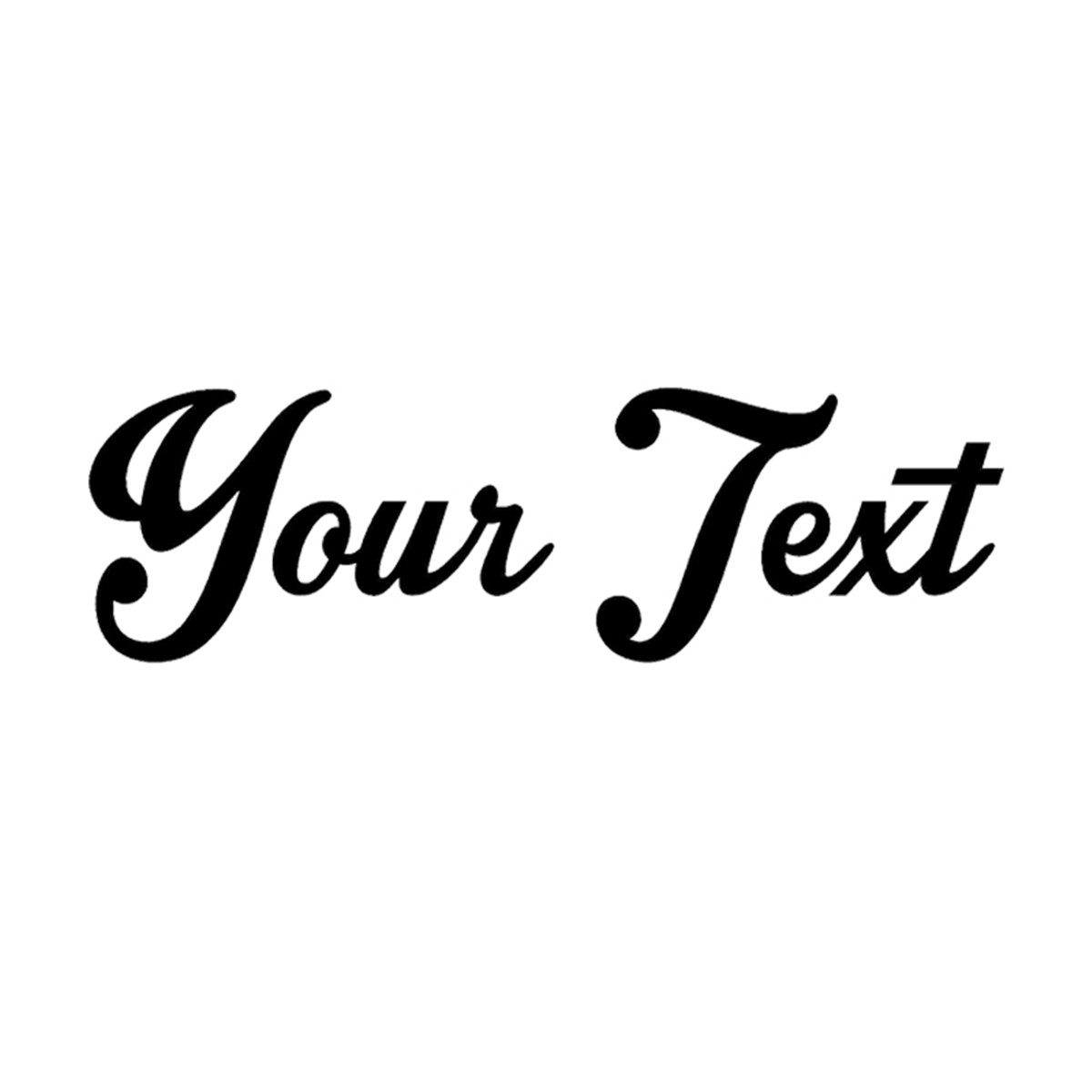 Details about your text vinyl decal sticker car window bumper custom 8 personalized lettering