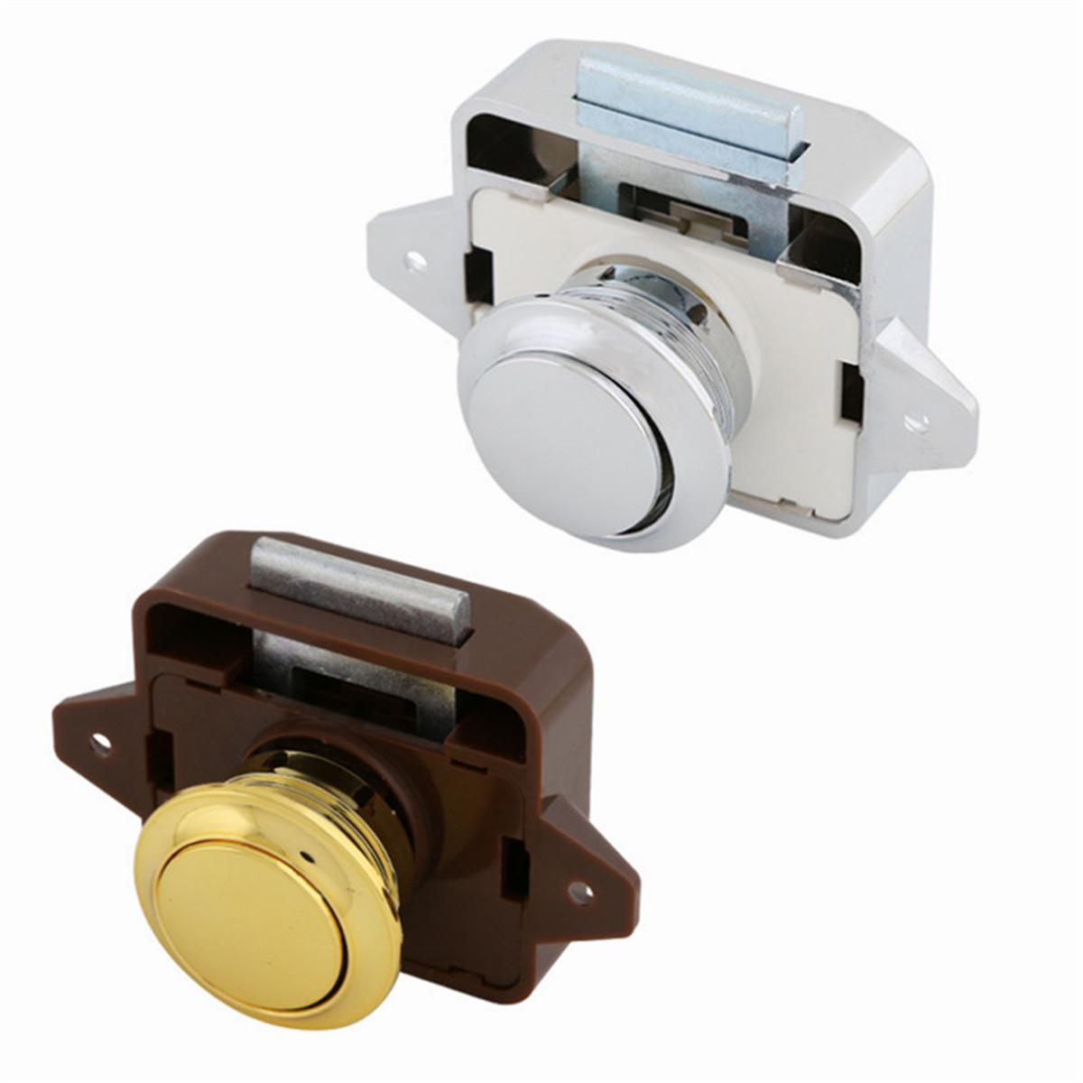 Picture of: Push Button Catch Lock Cupboard Door Motorhome Cabinet Camper Caravan Latch Knob Archives Statelegals Staradvertiser Com