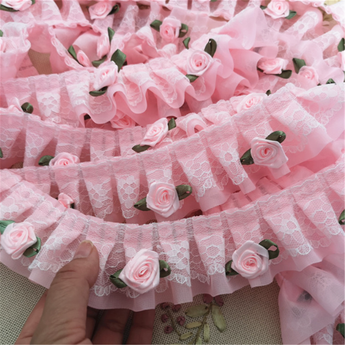 MOUSSELINE SHEER ELASTIC PASTEL PEACH AVAILABLE IN 15MM OR 25MM DIAMETER