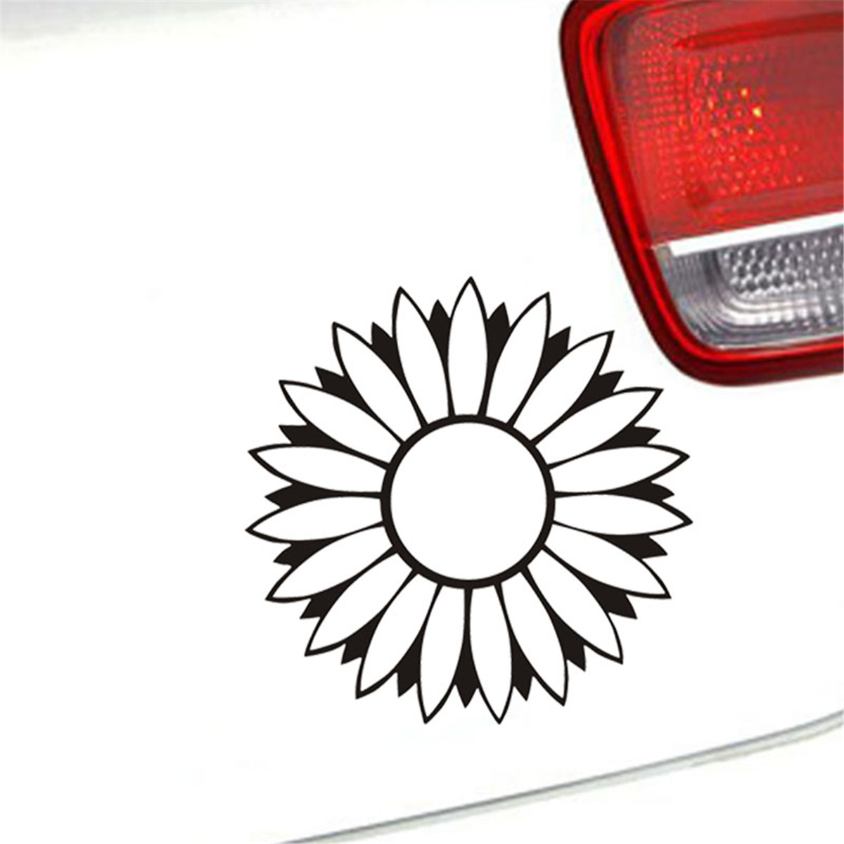 Details about flower prints car sticker window wall door laptop truck pad bumper vinyl decal