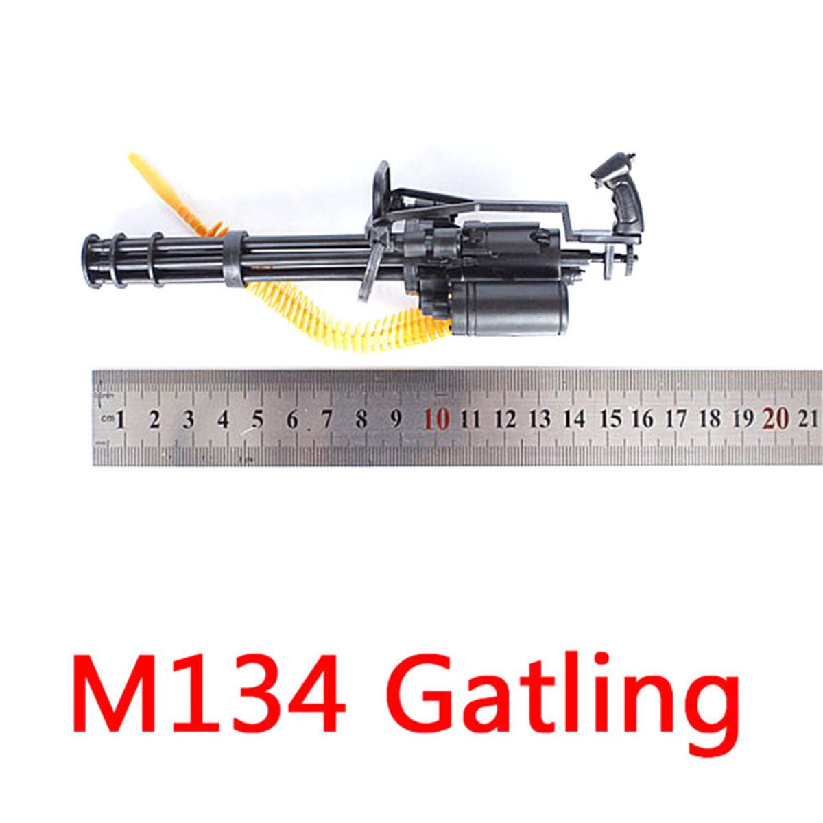 1:6 Action Figures M134 Gatling Minigun T800 Heavy Machine Gun Model toy g ML
