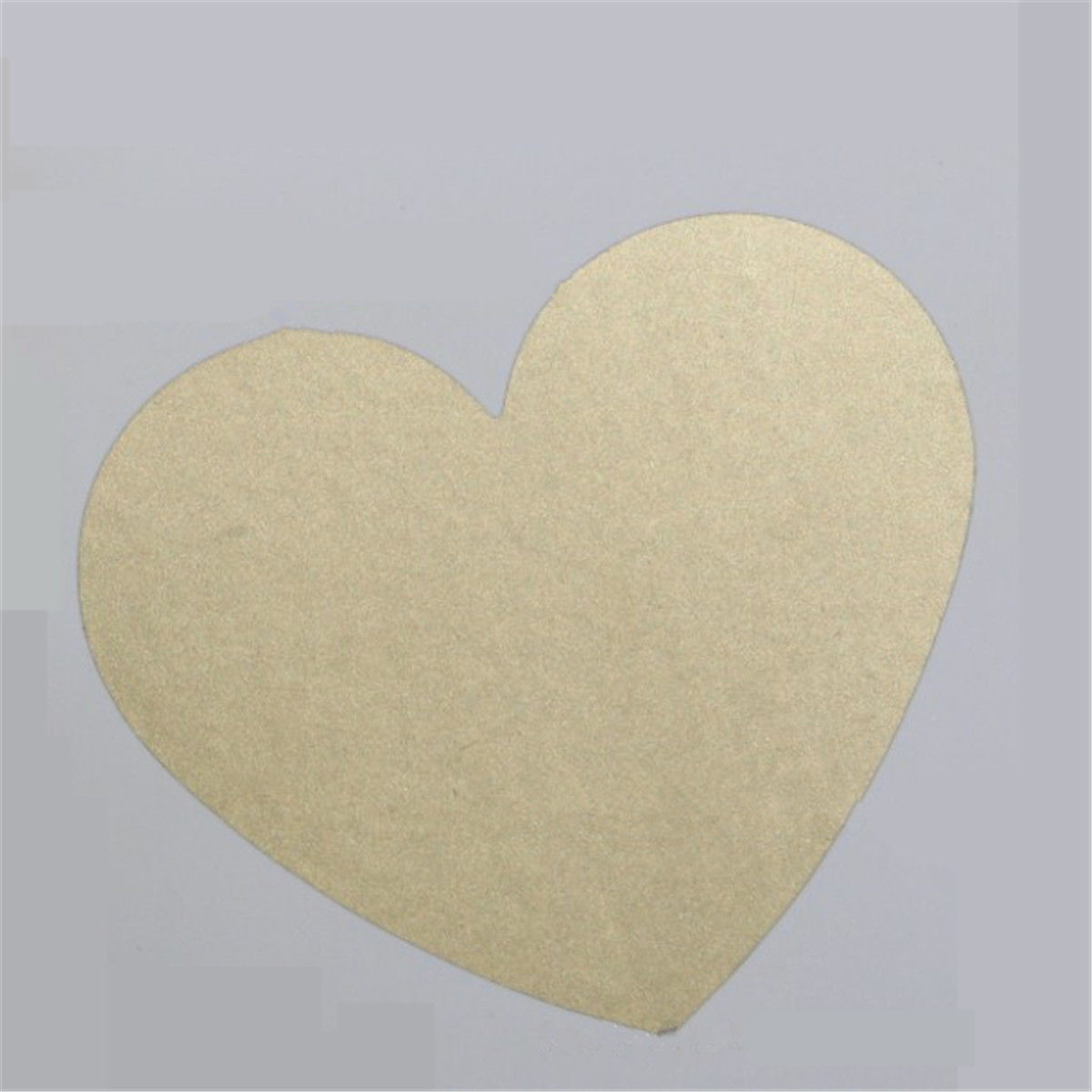 10 Pcs Scratch Off Stickers Heart Shaped Stickup Post Card Christmas Festival